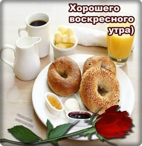 Прикольные пожелания с воскресным добрым утром