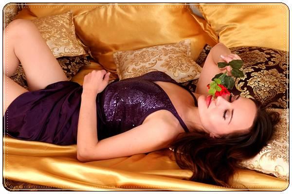 Трогательное пожелание спокойной ночи любимой