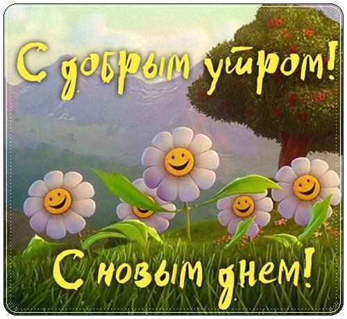 Пожелания с добрым утром лучшие короткие