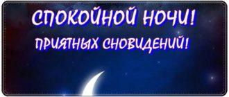 Пожелания доброй ночи девушке своими словами